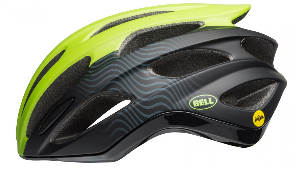 Bell Formula MIPS 公路头盔 型号 S (52-56厘米) matte/gloss bright green/black 款型 2019