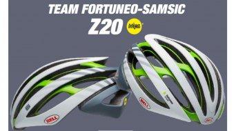 Bell Z20 MIPS 公路头盔 型号 S (52-56厘米) Team Fortuneo matte/gloss white/silver/green ltd. 款型 2019