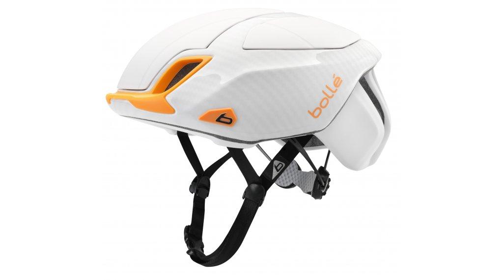 Bollé The One Road premium cyklistická helma velikost 58-62cm white orange  model 2017 d3c96fdac04