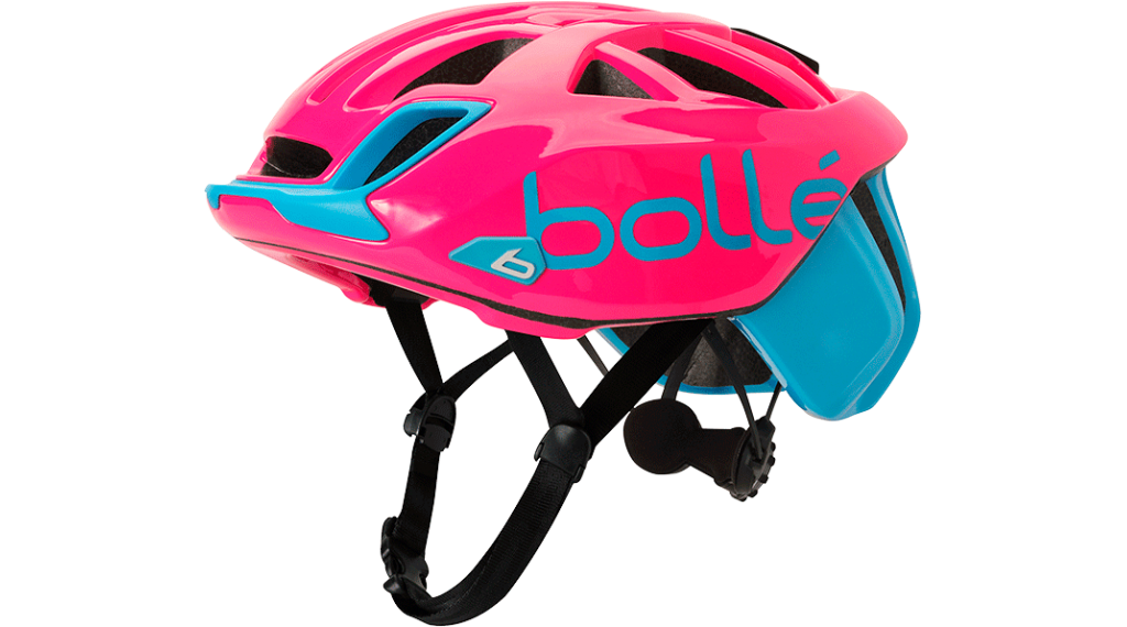 Bollé The One Base Rennrad-Helm Gr. 58-62cm cyan/magenta Mod. 2019