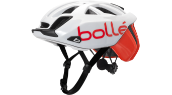 Bollé The One Base Rennrad-Helm Gr. 51-54cm white&red Mod. 2019