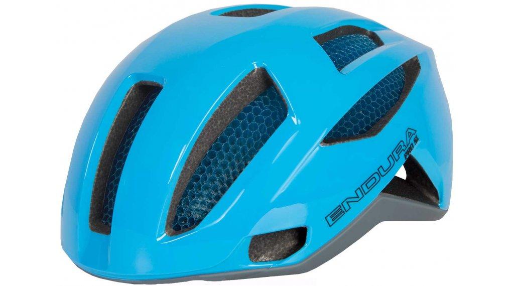 Endura Pro SL Rennrad-Helm Gr. L/XL (58-63cm) hi-viz blue