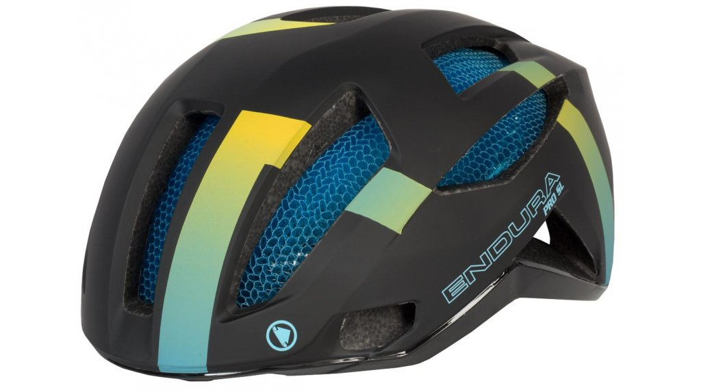 Endura Pro SL Rennrad-Helm Gr. L/XL (58-63cm) rainbow