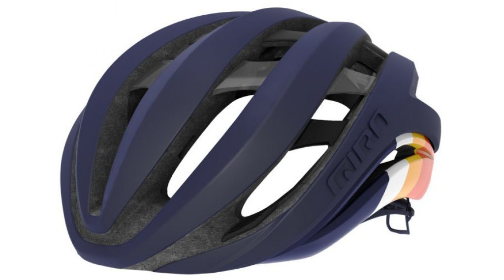 Giro Aether MIPS Rennrad-Helm Gr. S (51-55cm) matte midnight bars Mod. 2020