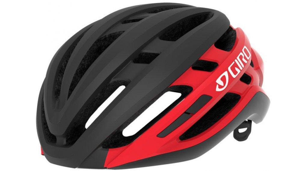 Giro Agilis Rennrad-Helm Gr. S (51-55cm) matte black/bright red Mod. 2020