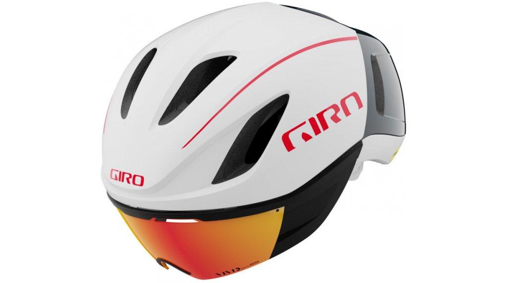 Giro Vanquish MIPS Rennrad-Helm Gr. S (51-55cm) matte white/portaro grey red