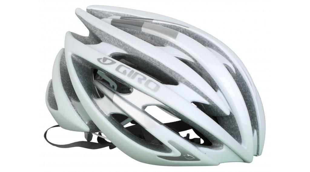 Giro Aeon 公路头盔 型号 S (51-55厘米) matt white/silver 款型 2020