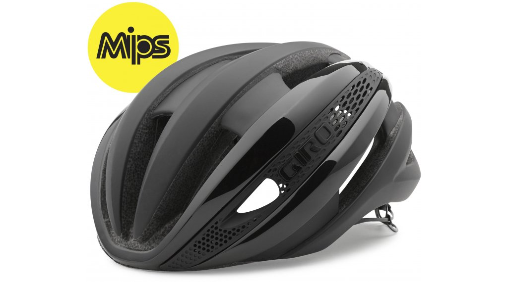 Giro Synthe MIPS road bike- helmet size S (51-55cm) black 2020