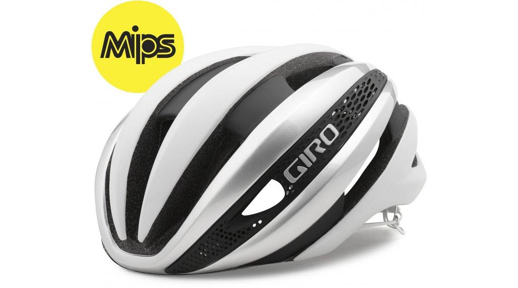 Giro Synthe MIPS Rennrad-Helm Gr. S (51-55cm) white/silver Mod. 2020