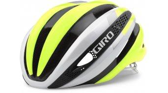 Giro Synthe silniční helma white/highlight yellow model 2018