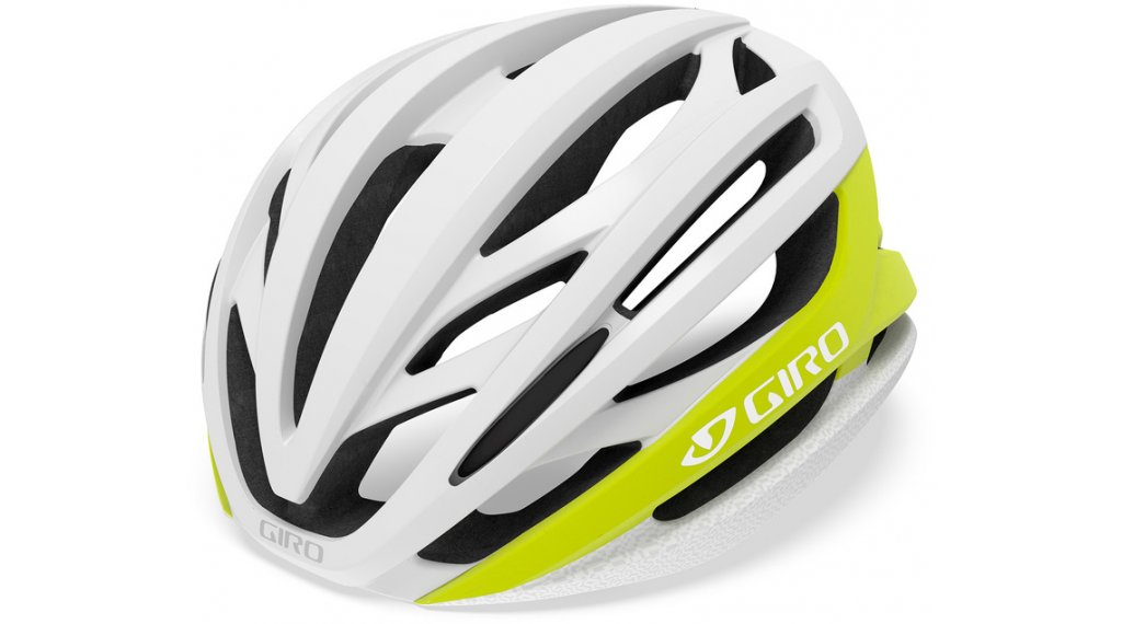 Giro Syntax MIPS Rennrad-Helm Gr. M (55-59cm) matte citron/white Mod. 2020