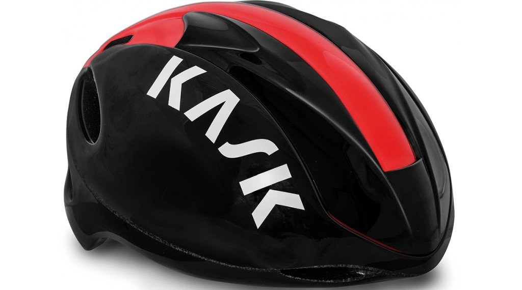 Kask Infinity Aero road bike- helmet size M (52-58cm) black/red