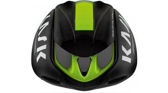 Kask Infinity Aero road bike- helmet size M (52-58cm) black/lime