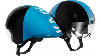 Kask Mistral Zeitfahr-Helm Gr. M (55-58cm) black/lightblue