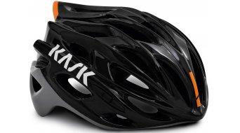 Kask Mojito X Rennrad-Helm Gr. M (52-58cm) black ash/orange fluo