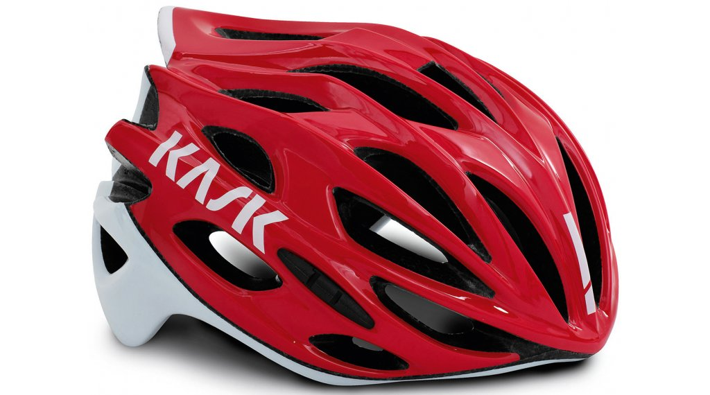 Kask Mojito X Rennrad-Helm Gr. M (52-58cm) red/white