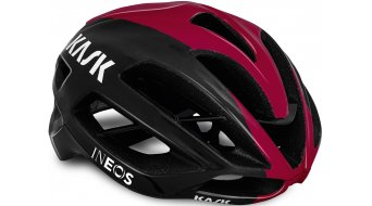 Kask Protone Team INEOS road bike- helmet black/bordeaux