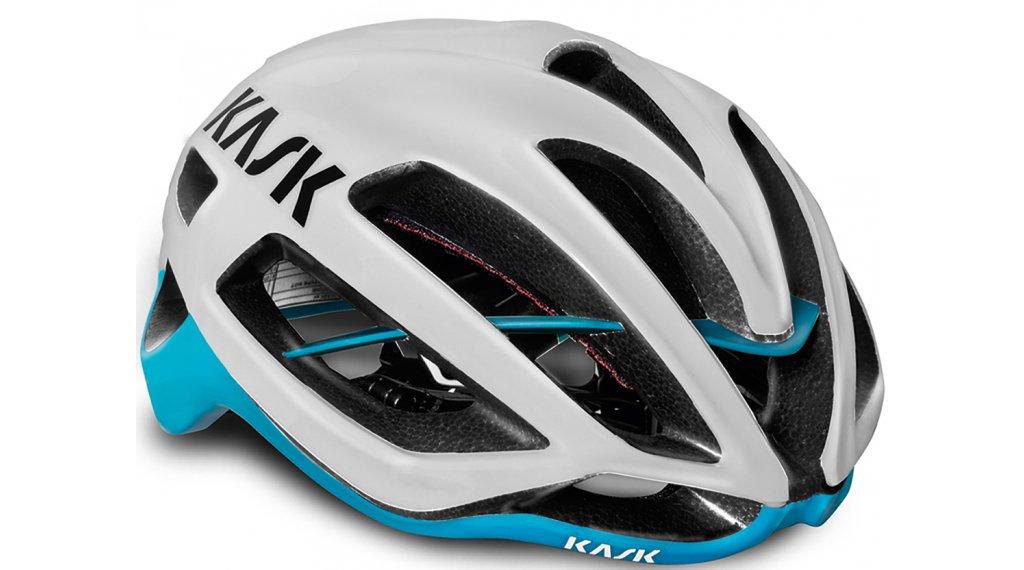 Kask Protone Rennrad-Helm Gr. M (52-58cm) white/light blue
