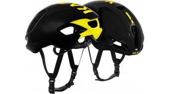 Kask Utopia Aero Rennrad-Helm Gr. M (52-58cm) black/yellow fluo