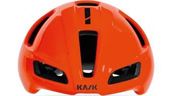 Kask Utopia Aero Rennrad-Helm Gr. M (52-58cm) orange fluo/black