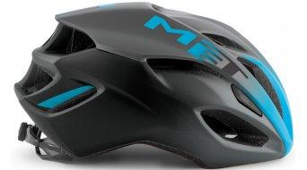 MET Rivale Rennrad-Helm Gr. S (52-56cm) black shaded cyan/matt