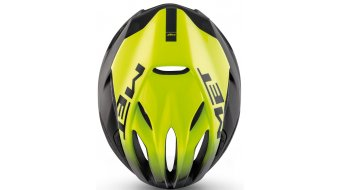 MET Rivale Rennrad-Helm Gr. S (52-56cm) black shaded yellow/matt glossy