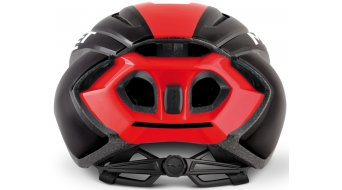 MET Strale Rennrad-Helm Gr. S (52-56cm) black red panel/glossy