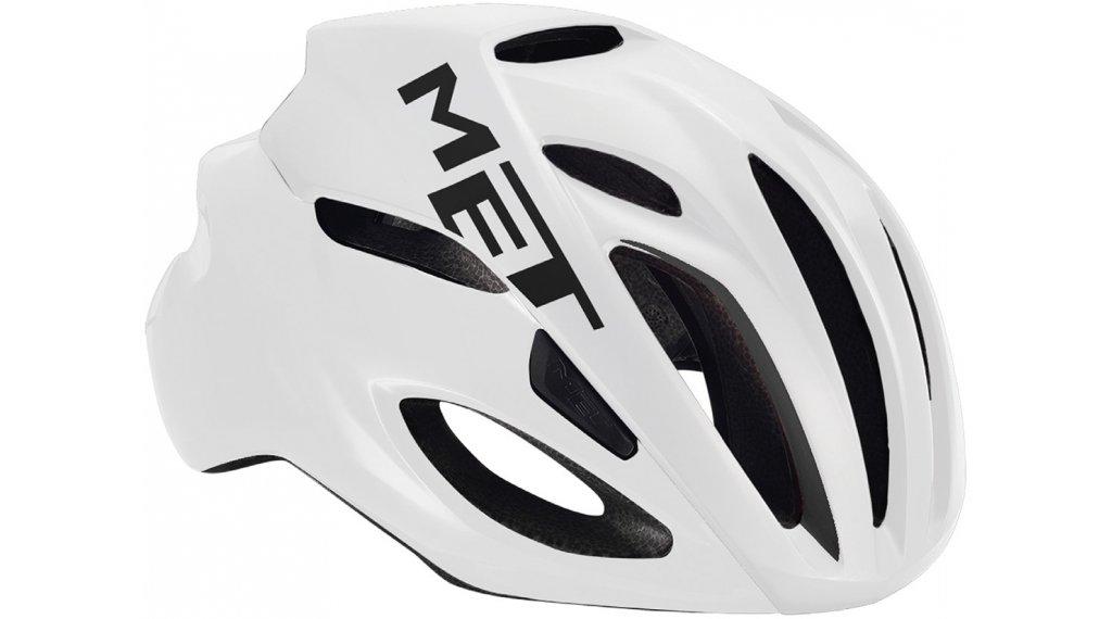 MET Rivale Rennrad-Helm Gr. S (52-56cm) white/matt glossy