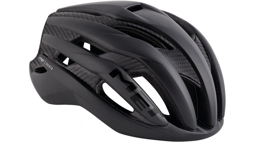 MET Trenta 3K Rennrad-Helm Gr. S (52-56cm) black/matt