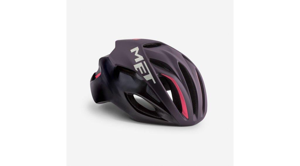 MET Rivale Rennrad-Helm Gr. S (52-56cm) deep purple black/matt