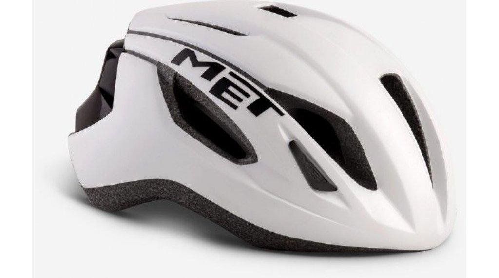 MET Strale Rennrad-Helm Gr. S (52-56cm) white black/matt glossy