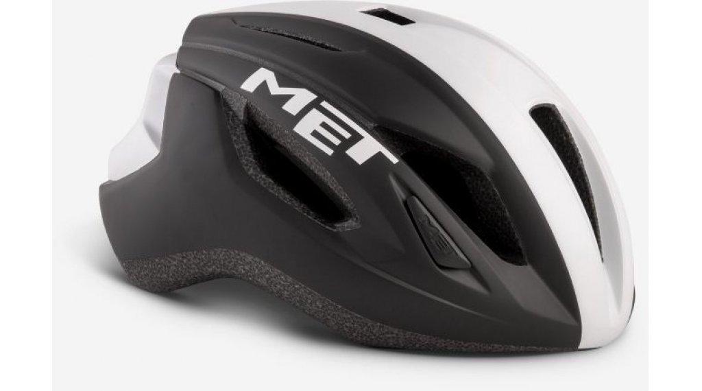 MET Strale Rennrad-Helm Gr. S (52-56cm) black white panel/matt