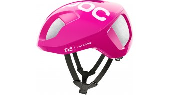 POC Ventral SPIN EF Education First Team vélo de course casque taille fluorescent rose