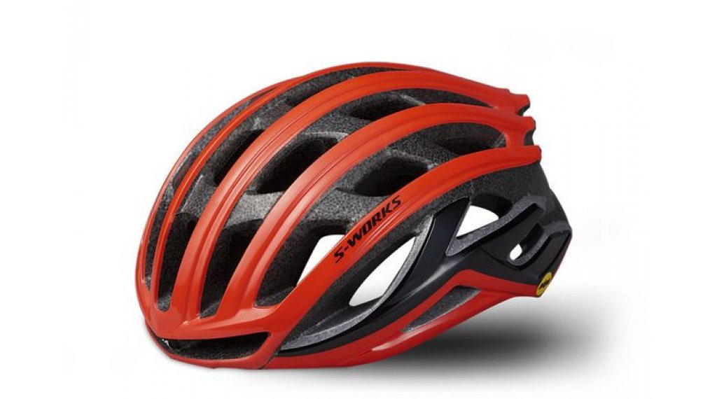 Specialized S-Works Prevail II ANGI MIPS road bike- helmet size L (59-63cm) rocket red 2020