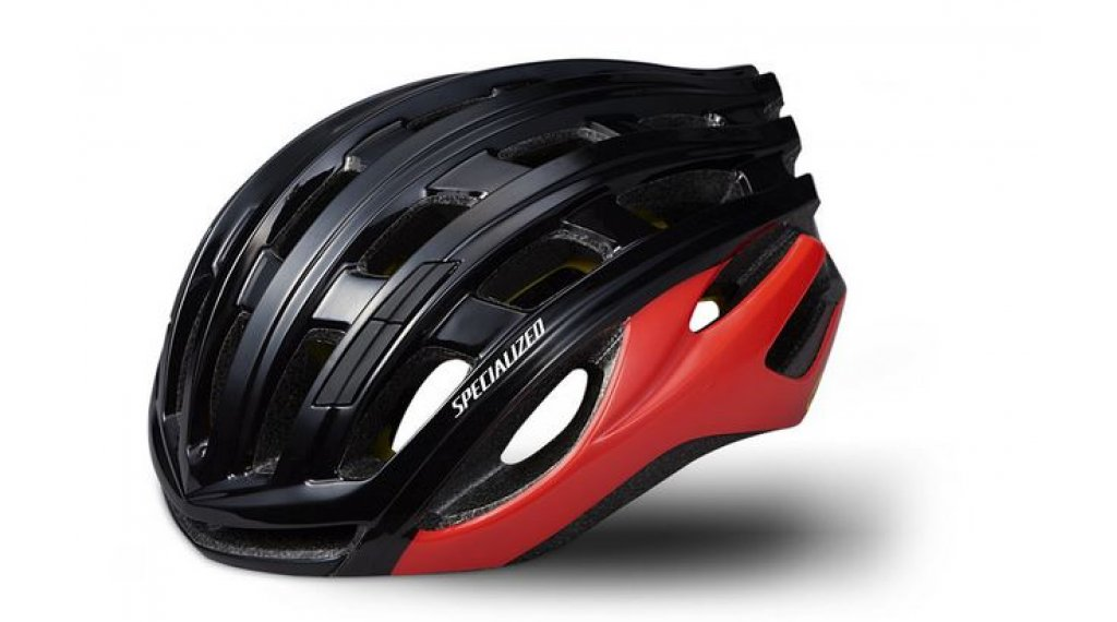 Specialized Propero 3 ANGI MIPS Rennrad-Helm Gr. M (55-59cm) black/rocket red Mod. 2020