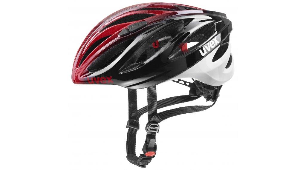 Uvex Boss Race Rennrad-Helm Gr. 52-56cm black/red