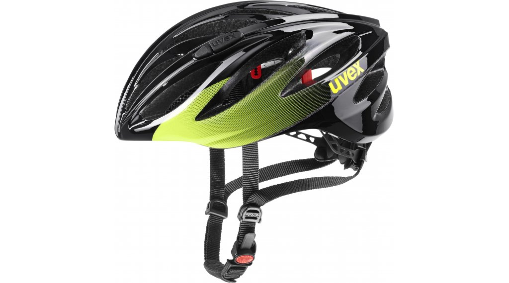 Uvex Boss Race bike helmet size 52-56cm black/lime