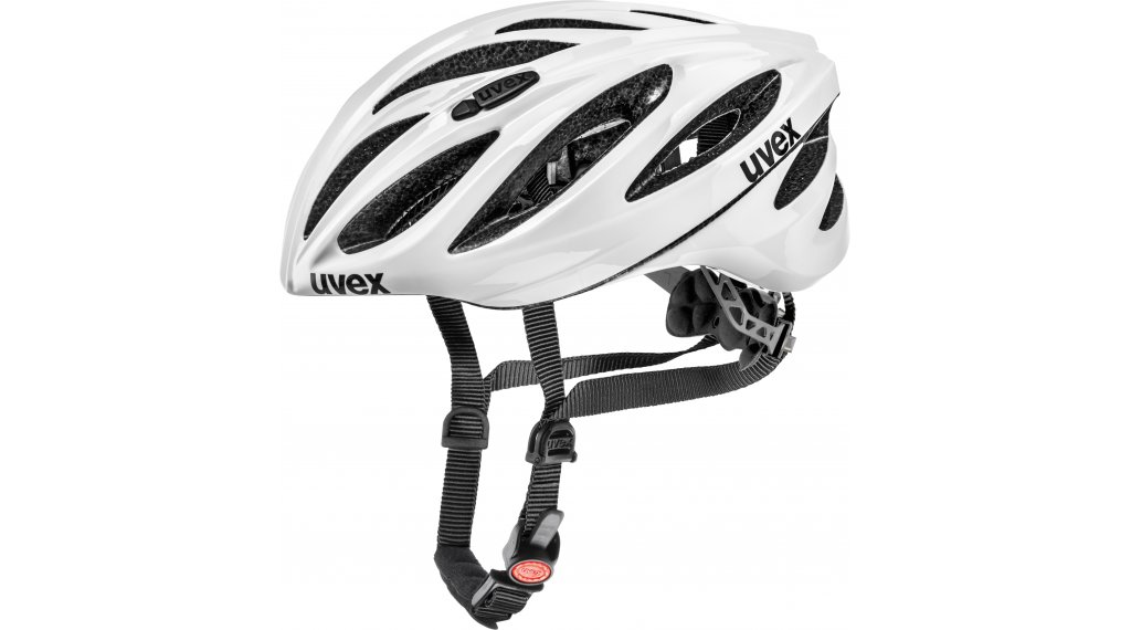 Uvex Boss Race Rennrad-Helm Gr. 52-56cm white
