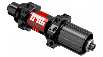 DT Swiss 240S Straightpull Rennrad Hinterradnabe 20 Loch QR 5x130mm Shimano 11-fach-Freilauf schwarz