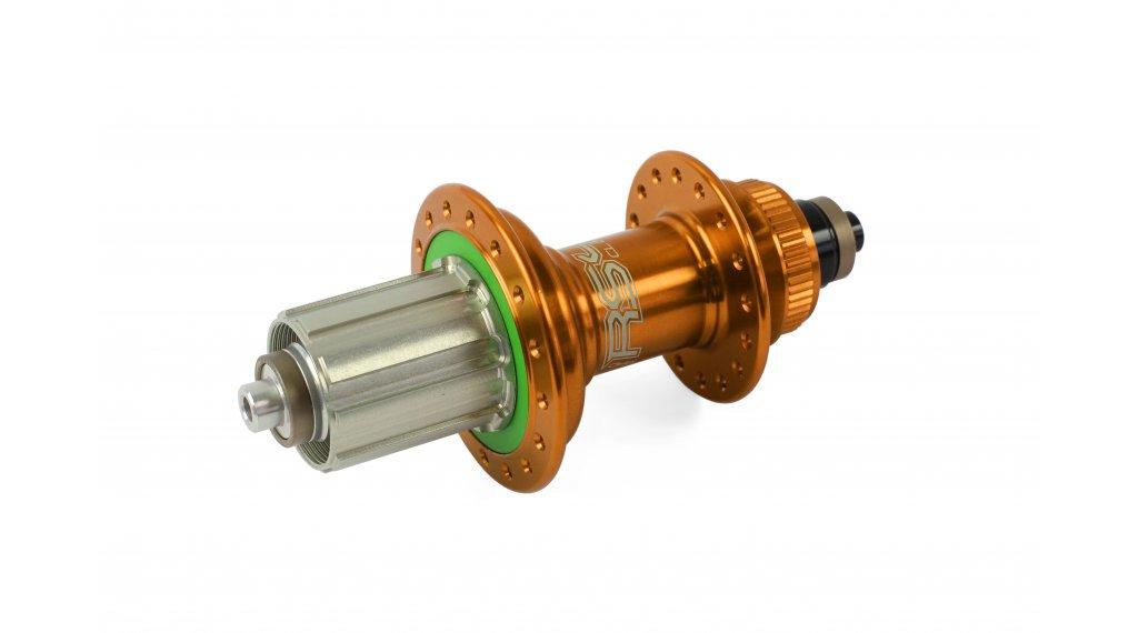 Hope RS4 Disc Centerlock Rennrad Hinterradnabe QR 5x135mm 24-Loch Sram XD-Freilauf orange