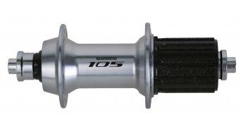 Shimano 105 bici carretera buje rueda trasera 36 agujeros 10/11-velocidades color plata FH-5800