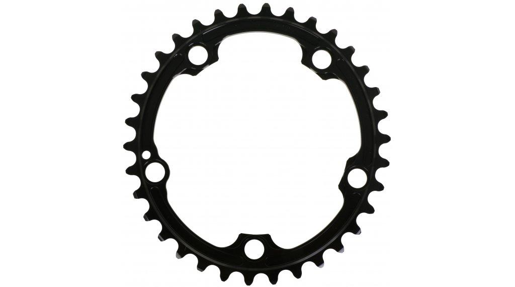 absolute Black Premium ovales Rennrad Kettenblatt SRAM 5-Loch (110mm) 34 Zähne schwarz