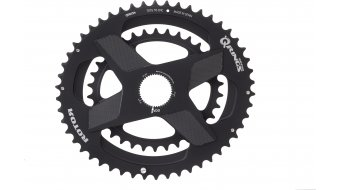 ROTOR Q-Ring Road Direct Mount Doppel-Kettenblatt ALDHU 2fach schwarz