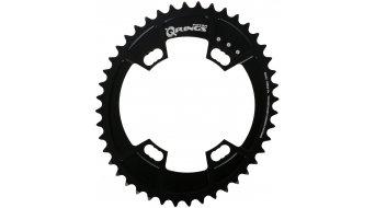 ROTOR QXL-环 Shimano 公路赛车 2x11 牙盘 4-孔 (110mm) 黑色 (内部)