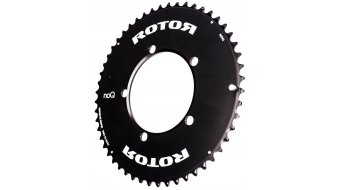rotor NoQ Aero chain ring 2 speed 5x110 outside black