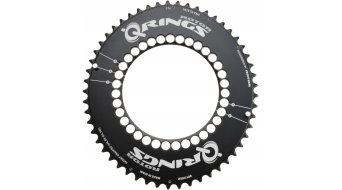 rotor Q-ring Aero chain ring 2 speed 5x110 black