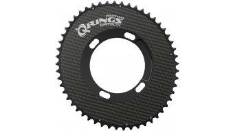 ROTOR Q-Ring OCP Qarbon Road Kettenblatt Shimano 2fach 4x110 außen schwarz