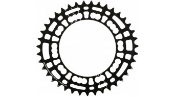 ROTOR Q-Ring Road plato 5 agujeros (110mm) negro(-a)