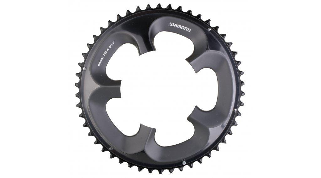Shimano Ultegra 10 velocità corona catena 50 Zähne per Compact- guarnitura glossy grigio per-6750