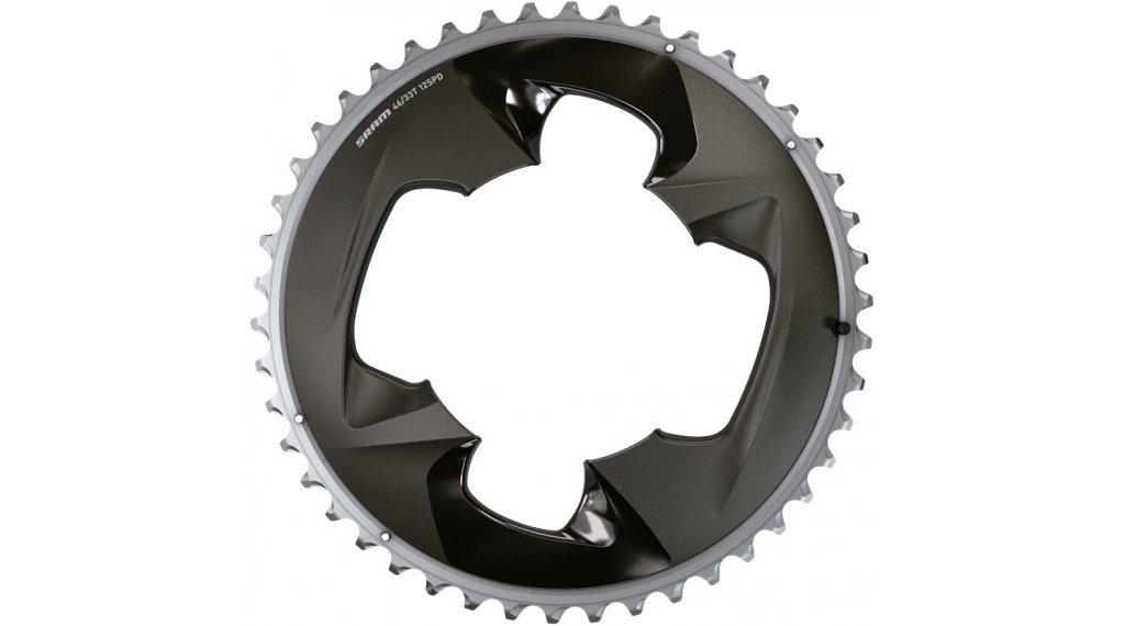 SRAM Force Road chain ring 12 speed 46  teeth 107mm  BCD polar grey